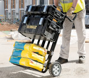 dewalt tool box trolley