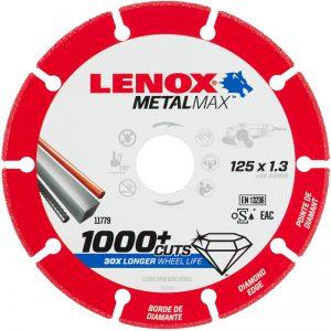 Lenox MetalMax diamond blade for metal
