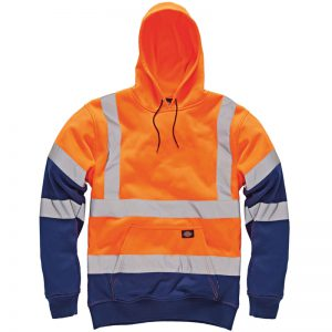 Dickies Hi Vis Hooded Sweatshirt