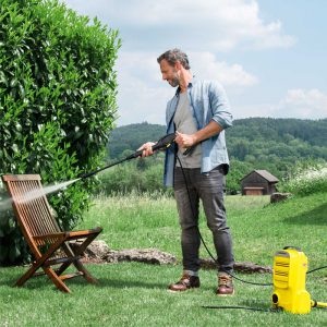 Karcher Compact K Series Pressure Washers Cleaning Garden Furniture