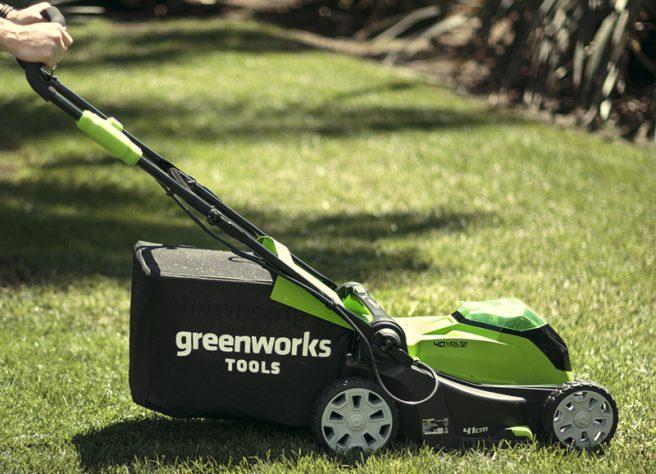 Greenworks 40v Range Lawnmower