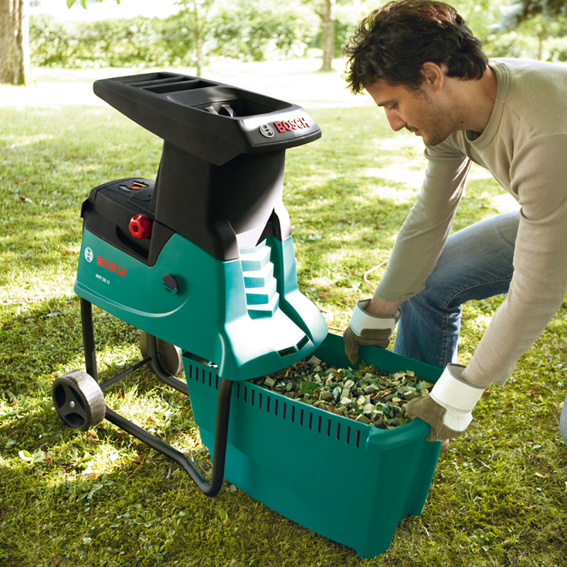 Garden Shredder Chips from Bosch Shredder