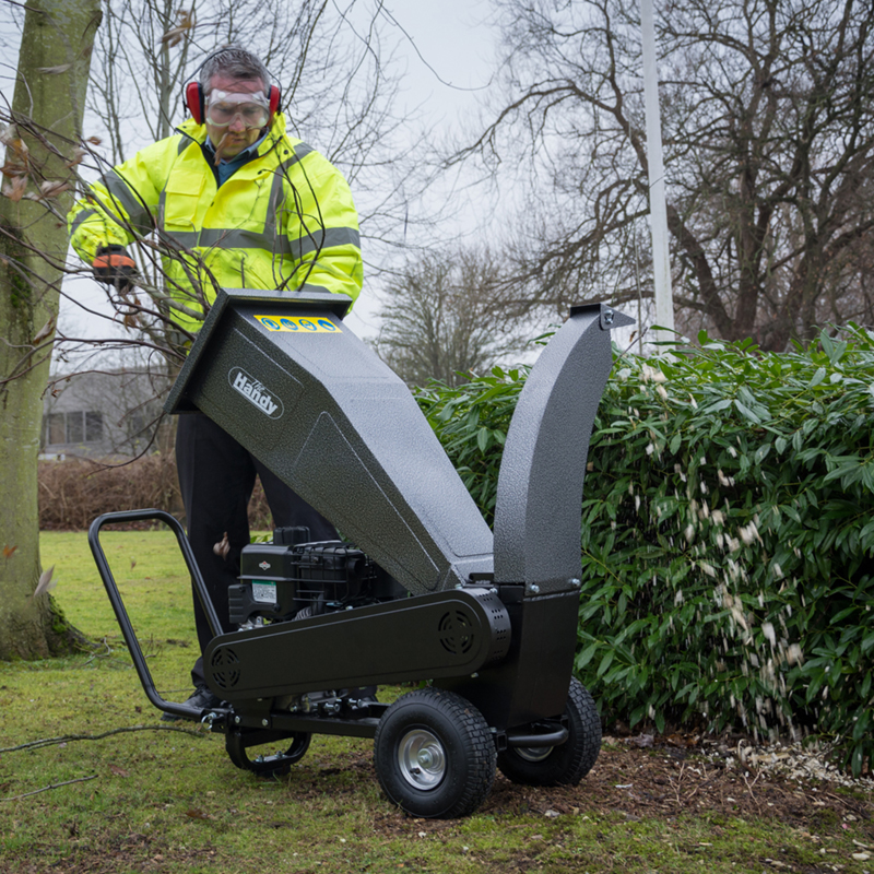 Petrol Chipper Garden Shredder from the Handy