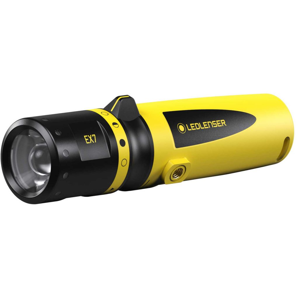 LED Lenser ATEX EX7 Torch