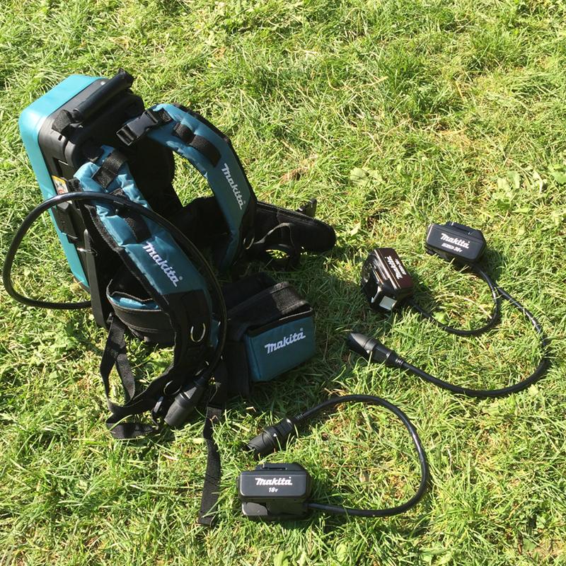 New Makita Garden Tools 2020 Battery Backpack