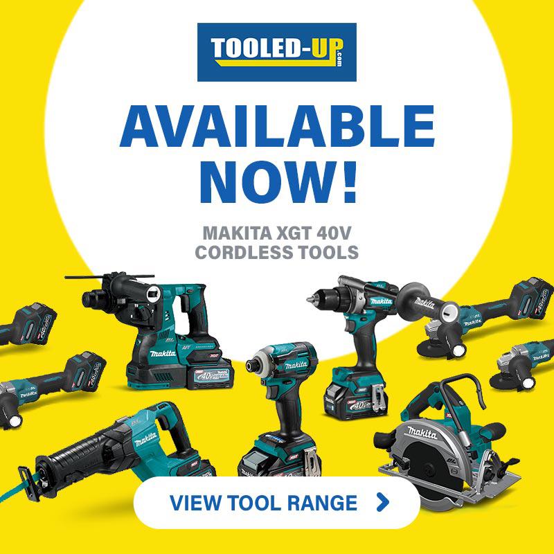 Makita XGT 40v Cordless Tools available at Tooled-Up
