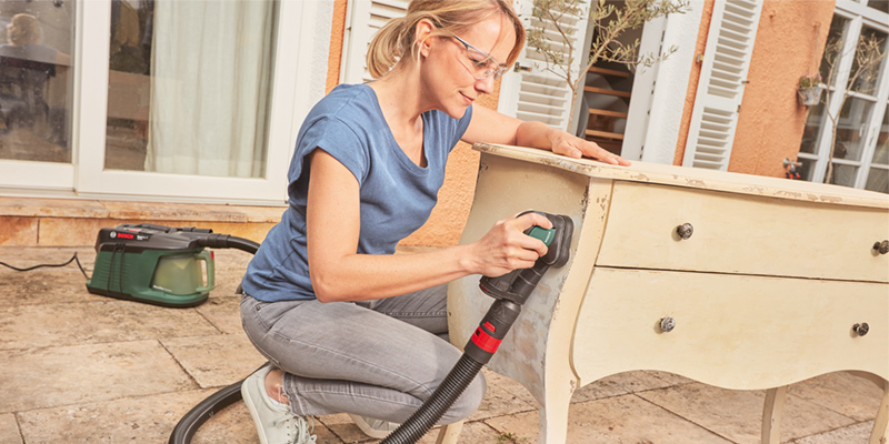Bosch EasyCurvSander 12 Dust Extraction