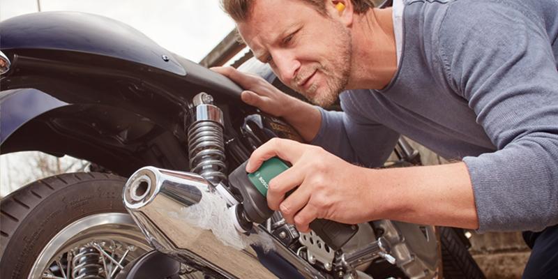 Bosch EasyCurvSander 12 Polishing Motorbike
