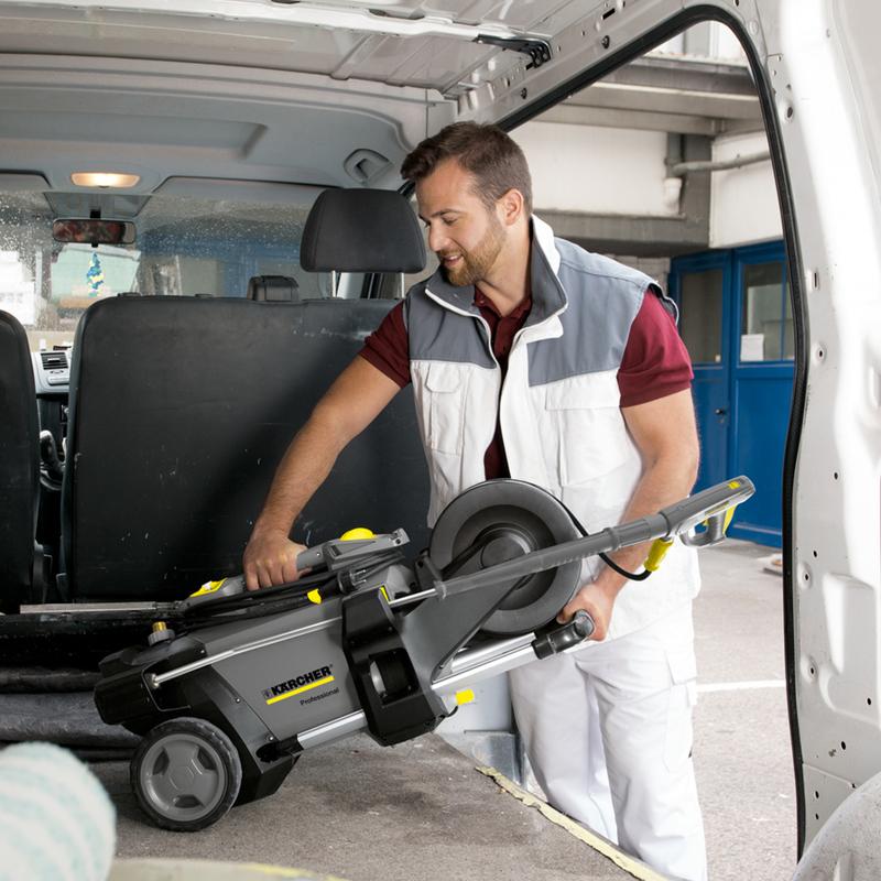 Karcher Pressure Washer in Tradesmans Van