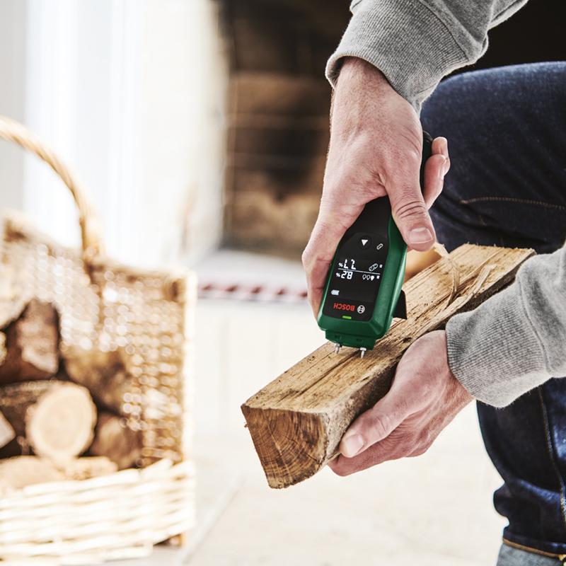 Bosch UniversalHumid Testing Firewood