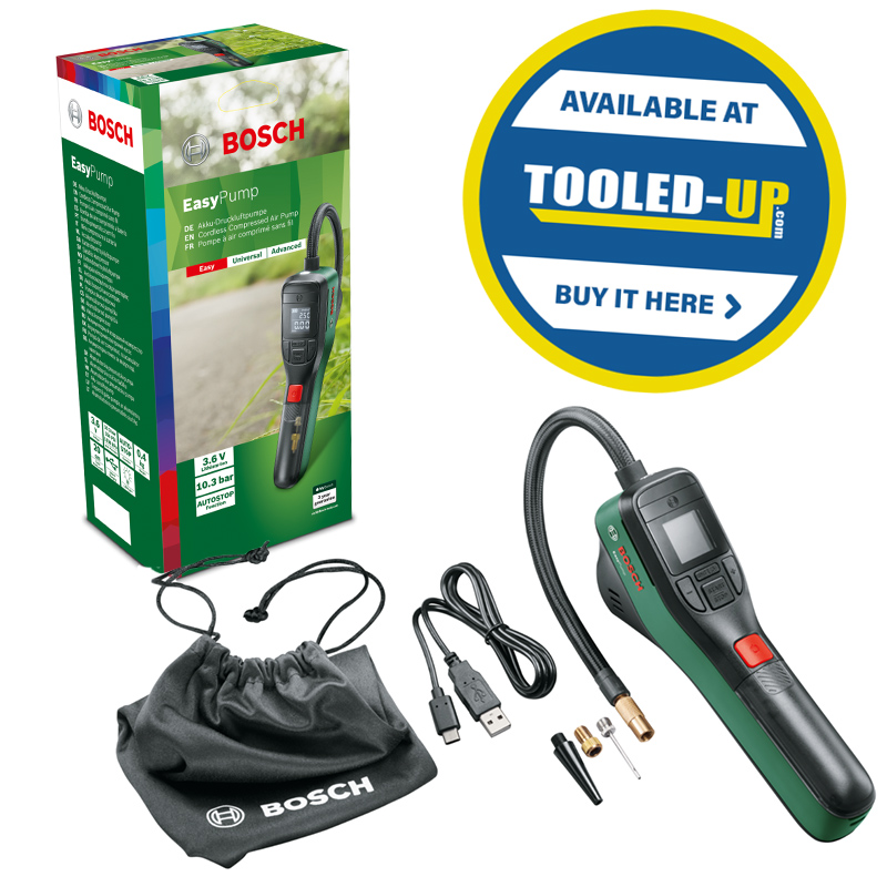 Bosch Easypump Available at Tooled-Up